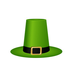 Hat cylinder on st patrick s day vector