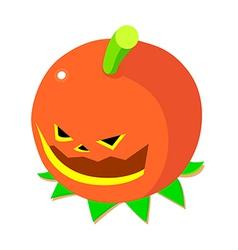 icon pumpkin vector image