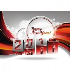 happy new year design vector image
