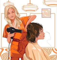 Salon vector image