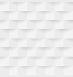 3d realistic cube square pattern vector image