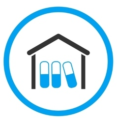 Drugs Garage Rounded Icon vector