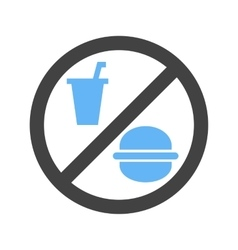 No Food or Drinks vector