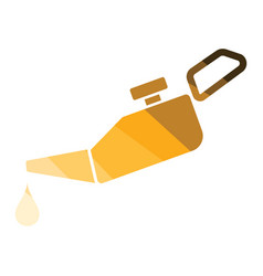 Oil canister icon vector