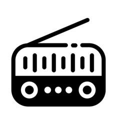 Radio solid vector