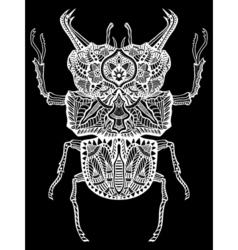 Zentangle Bug vector