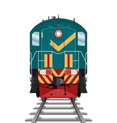 Diesel Locomotive vector image