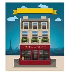 european cafe vector image vector image