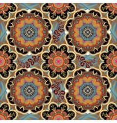 Seamless tiled pattern Royal luxury classical vector image