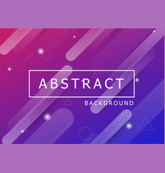 abstract background with dynamic shapes vector image