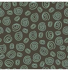 Abstract pattern spiral dark vector