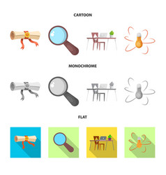 Education and learning sign vector