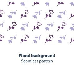 Elegant flowers fancy backdrop pattern vector