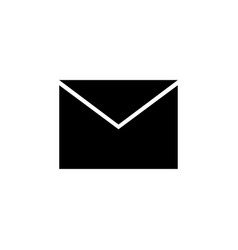 message icon envelope icon vector image