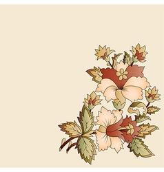 Ottoman motifs oriental design portfolio seven vector