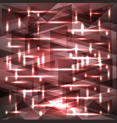 Shiny muddy pink color pattern of shards and vector