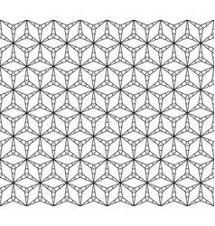 subtle triangular texture seamless pattern vector image