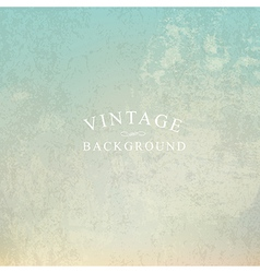 vintage background with text template vector image vector image