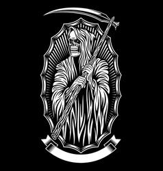 Grim Reaper Art vector image