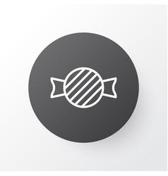 Taffy icon symbol premium quality isolated toffee vector