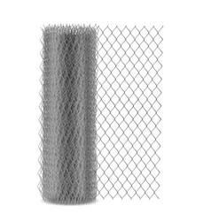 Chain link mesh fencing rabitz in roll vector