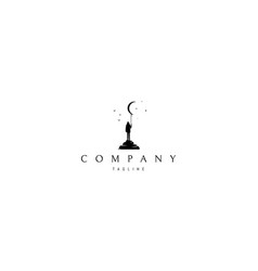 Dreamer abstract black logo design image vector