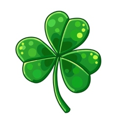 Lucky Clover isolated on white background vector