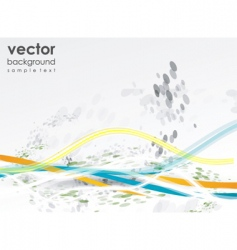 modern elements background vector image vector image