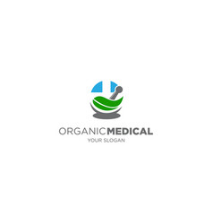 organic medical vector image