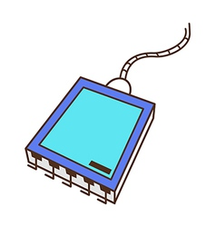 Removable hard disk drive vector