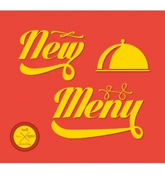 Restaurant Menu Card Design template vector image