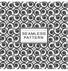 seamless pattern with abstract shape and simple vector image vector image