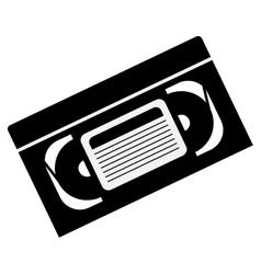 video cassette tape vector image