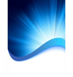 abstract burst card template vector image vector image
