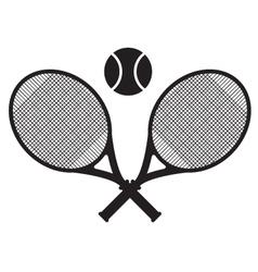 tennis sport icon design vector image vector image