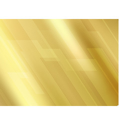 abstract lines pattern luxury style on golde vector image