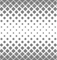 Black white abstract square pattern background vector image
