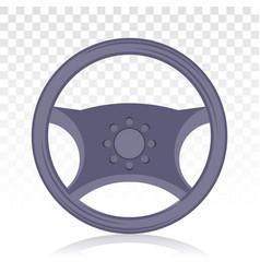 Car automobile steering wheel or driving wheel vector