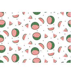 hand drawn abstract graphic cartoon summer vector image