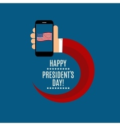 Presidents Day in USA Background Can Be Used as vector image