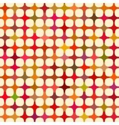 Seamless multicolor cross tiling grid vector