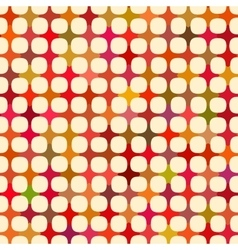 Seamless multicolor cross tiling grid with vector