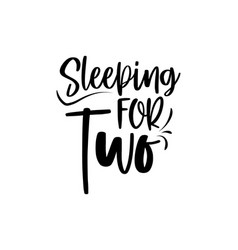 Sleeping for two vector