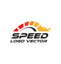 Speed rpm logo vector