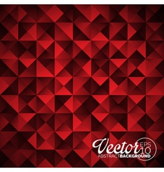 geometric triangles background Abstract vector image vector image