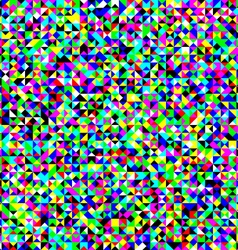 Triangles colorful noise pattern vector image