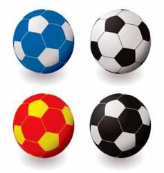 football variation vector image vector image