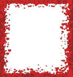 Valentines Day Border vector image vector image