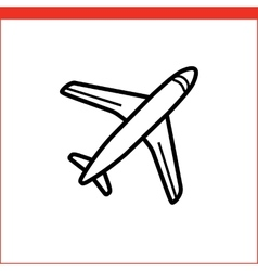 Air mail icon vector
