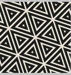 stylish minimalistic triangle shape lines grid vector image